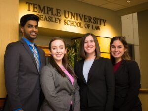 Temple National Trial Team