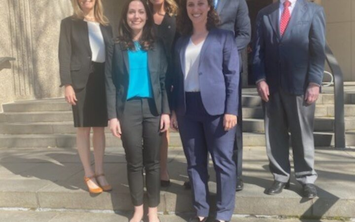 2020 International Criminal Court Moot Court Competition team and coaches