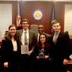 Temple Law Trial Team Members at Region III Finals