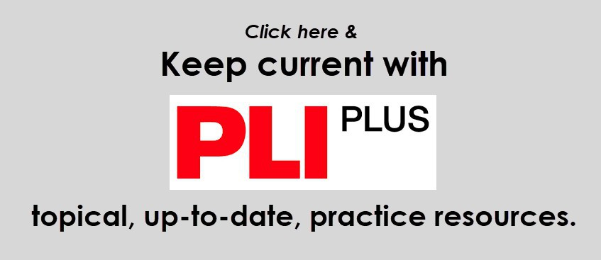 Keep Current with PLI Plus