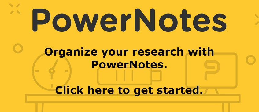 Powernotes: Organize your Research