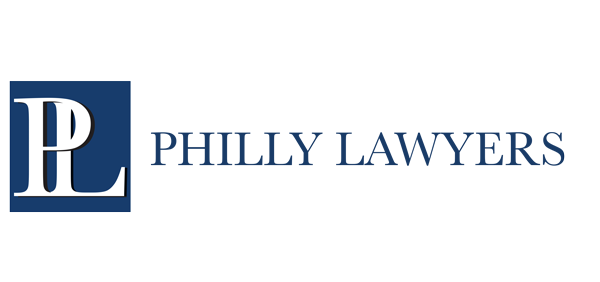 Philly Lawyers logo in blue text