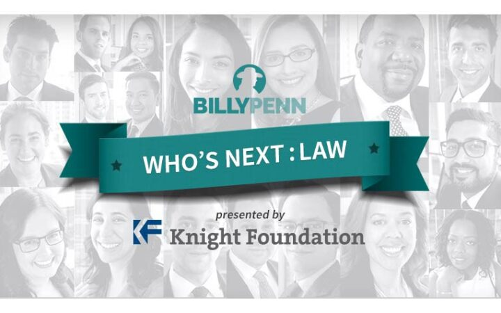 Who's Next: Law collage of young lawyers