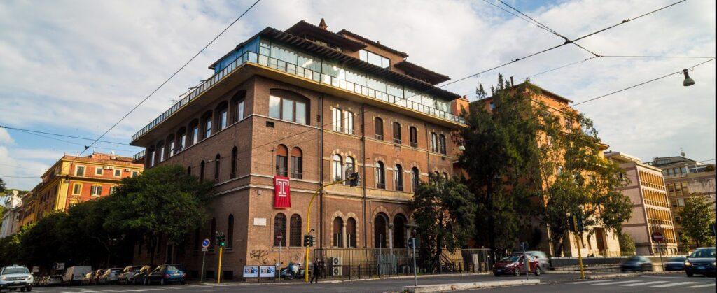 Rome Campus Building_pano